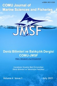 Çanakkale Onsekiz Mart University Journal of Marine Sciences and Fisheries