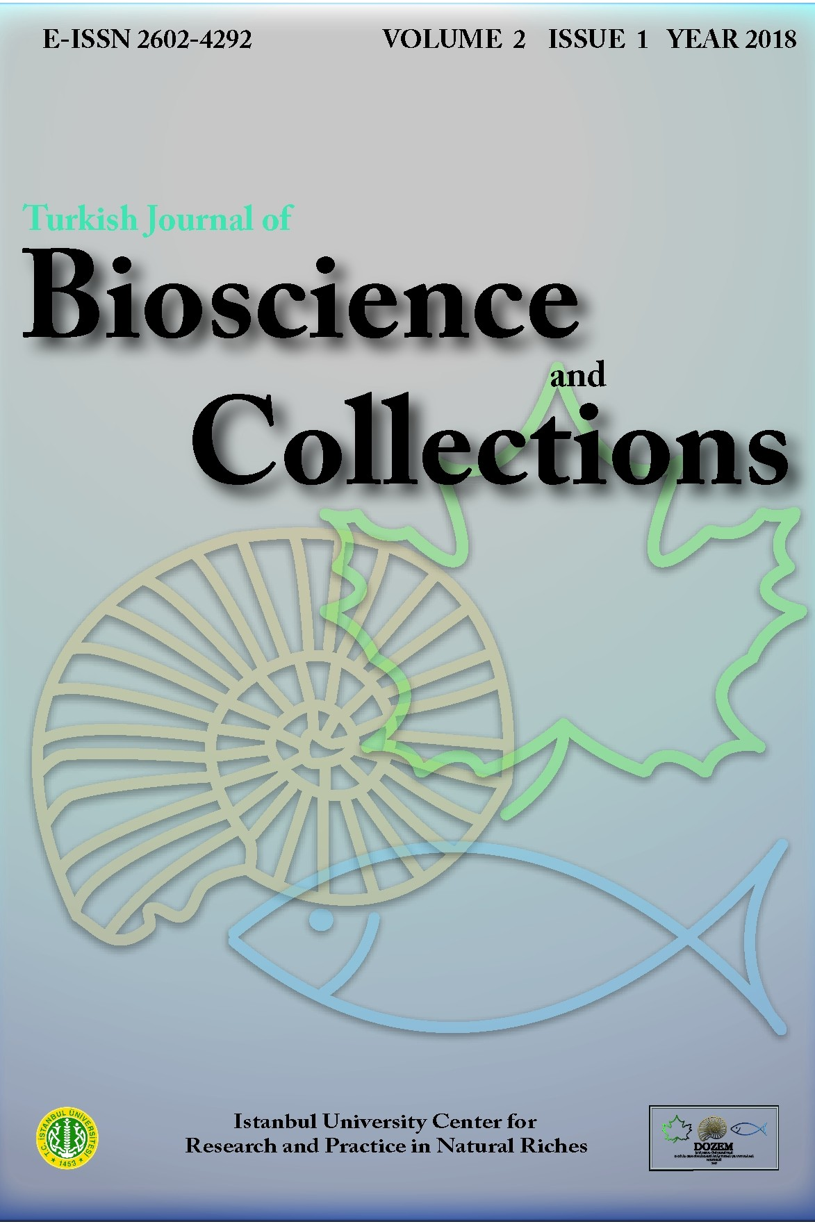 Turkish Journal of Bioscience and Collections