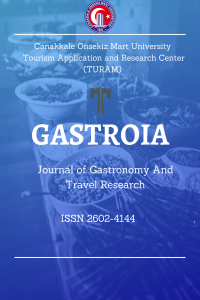 Gastroia: Journal of Gastronomy And Travel Research