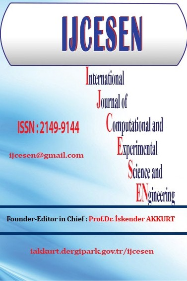 International Journal of Computational and Experimental Science and Engineering (IJCESEN)