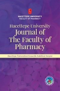 Hacettepe University Journal of the Faculty of Pharmacy